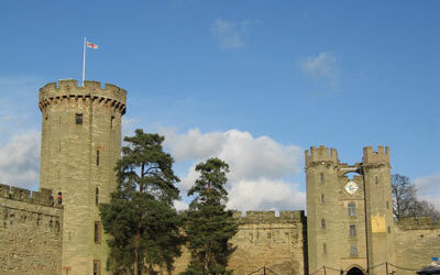 Light and Shade at Warwick Castle