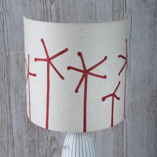 Seedheads slim lampshade