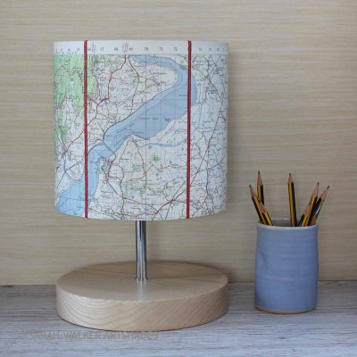 Stroud OS map lamp