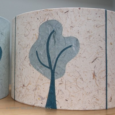 Tree design lampshade