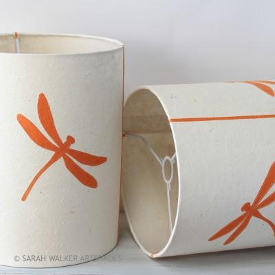 Orange Dragonfly drums