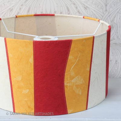 Sunshine stripes drum