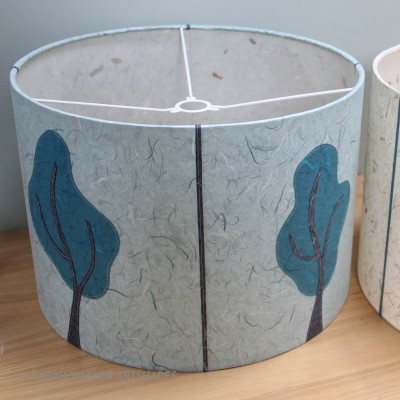Tree design drum