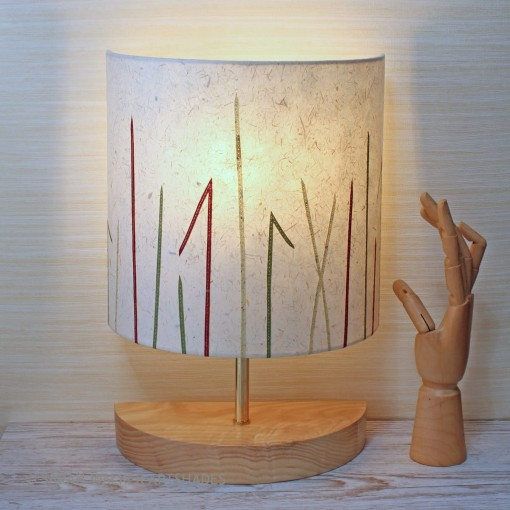 Table lamp grasses design