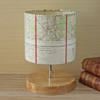 Monmouth map table lamp