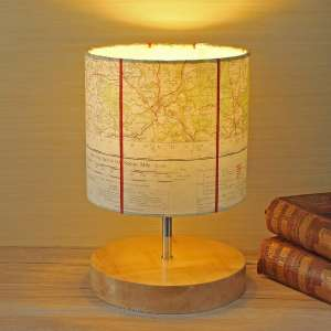 Monmouth map lamp