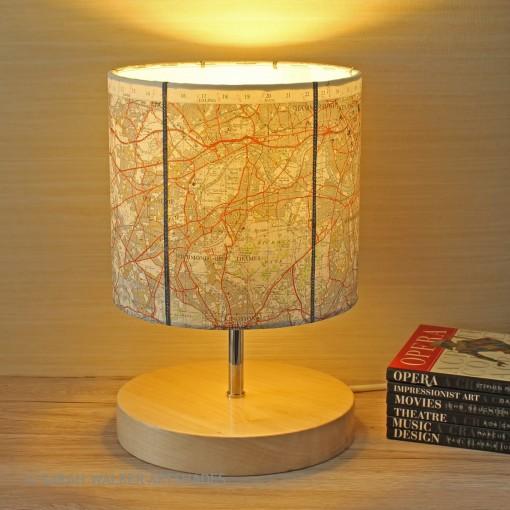 Richmond OS map lamp