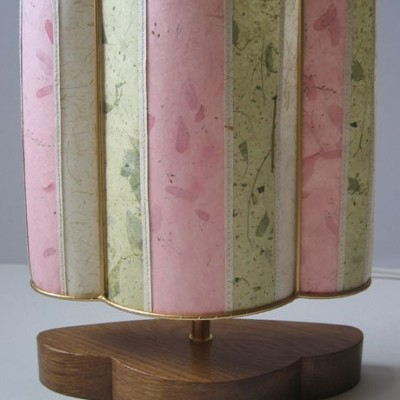 Pink and pistachio