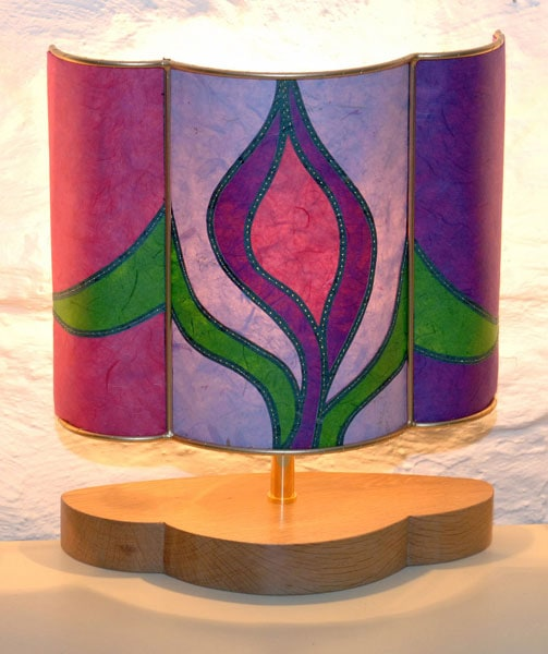 purple-tulip-lampshade