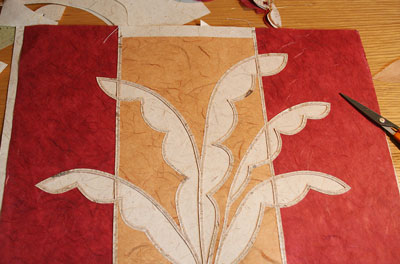Lampshade design inspired by acanthus leaves