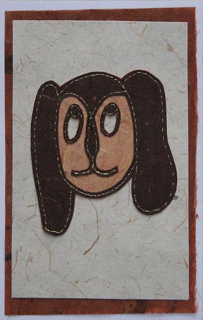 Stitched-dog