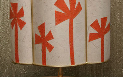 Floral lampshade without the chintz