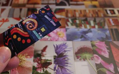 My MOO cards