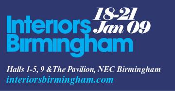 Interiors Birmingham 18 – 21 January