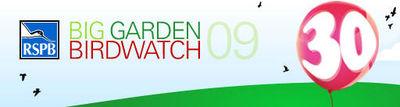 Big Garden Birdwatch 24-25 January 2009