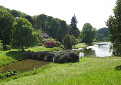 Stourhead NT Garden in Wiltshire