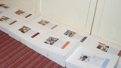 Phew!  New ArtShades brochures have arrived.