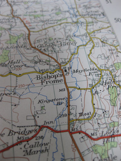 Bishops-Frome-OS-map