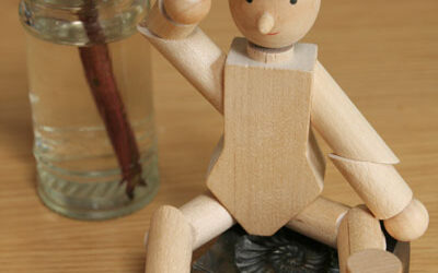 Three Takes …. on a wooden man