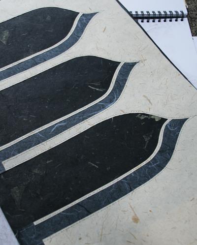 Stitched-paper-Gothic-arche