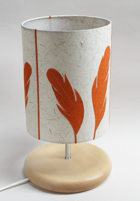Feather-lamp