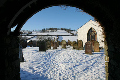 Uldale-Church-in-snow
