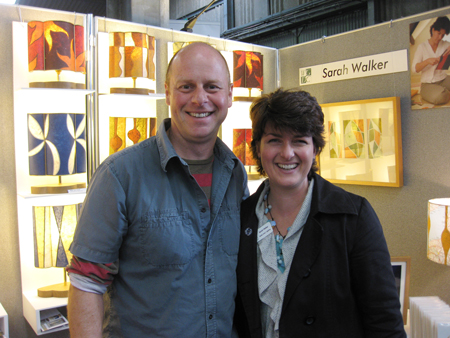 Joe Swift and me at Malvern