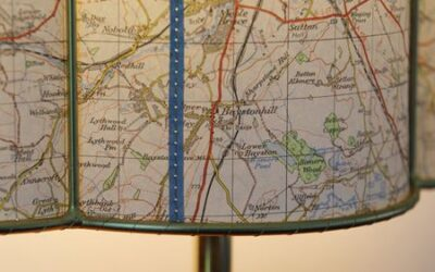 Bespoke Half-Shades from Reclaimed Maps