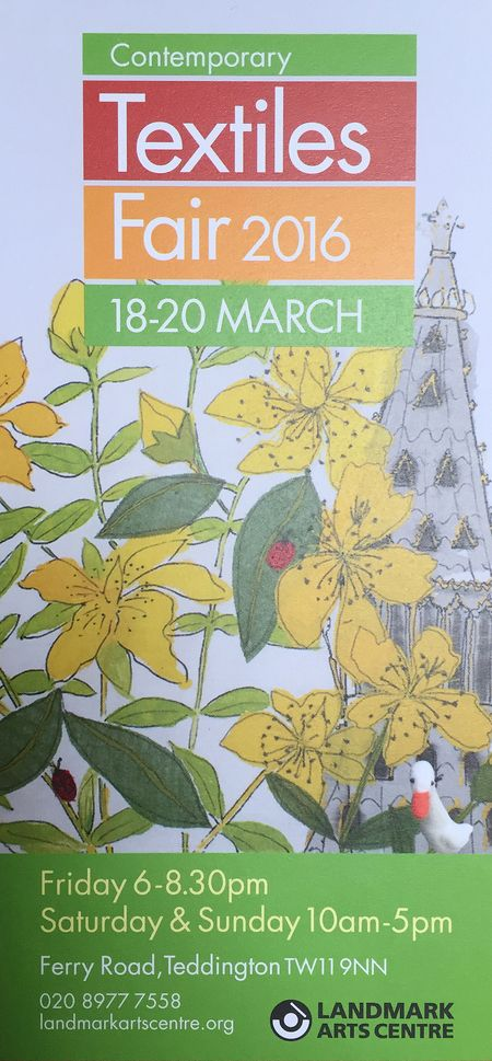 Contemporary Textiles Fair 18-20 March Teddington