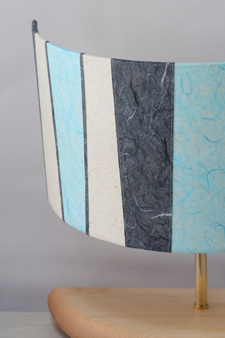 New demi-lune lamp for Teddington