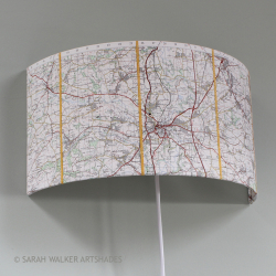 Oxford-map-wall-light