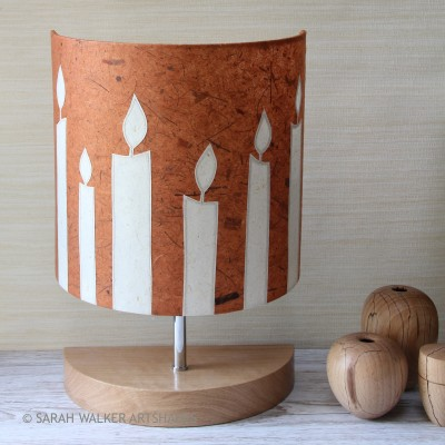 Candles Table Lamp