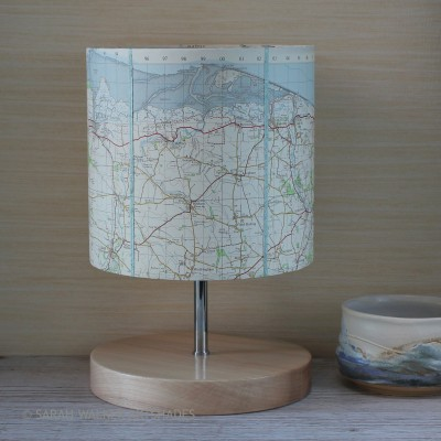 Cley-on-Sea map lamp