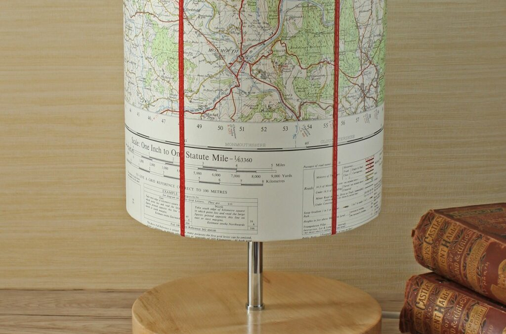 Map shades in stock for Christmas delivery