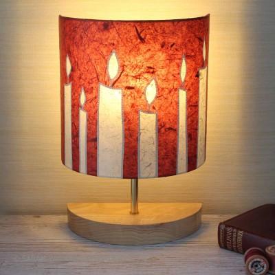 Claret Candles half lamp