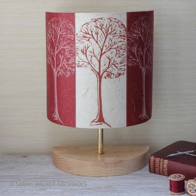 Trees design table lamp