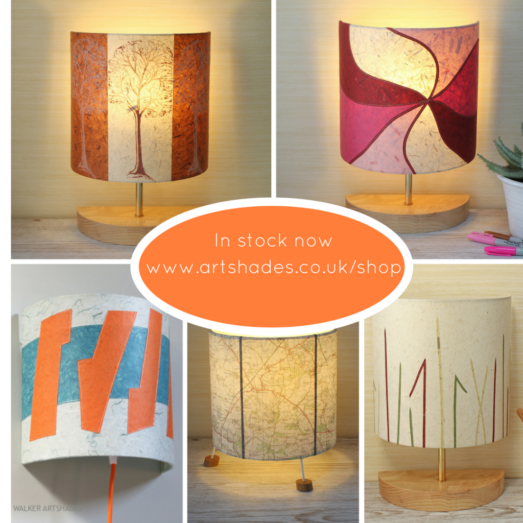 Table lamps in stock