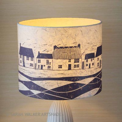 Aubergine Cottages Lampshade