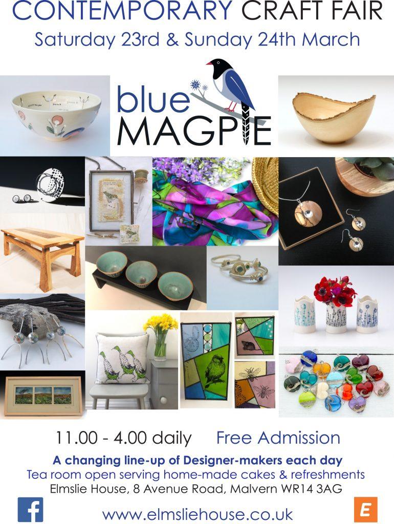 Elmslie House Contemporary Craft Fair 24 March