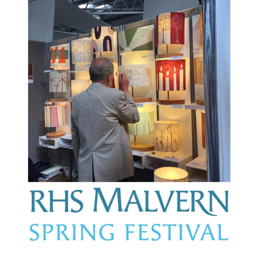 ArtShades stand at RHS Malvern